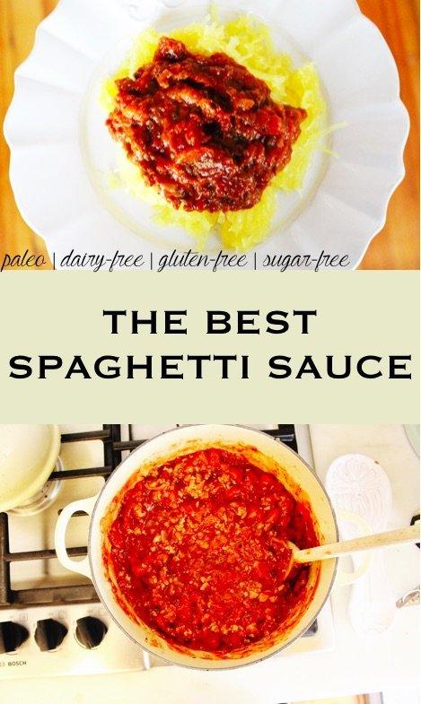 the best spaghetti sauce - paleo, dairy-free, gluten-free, sugar-free
