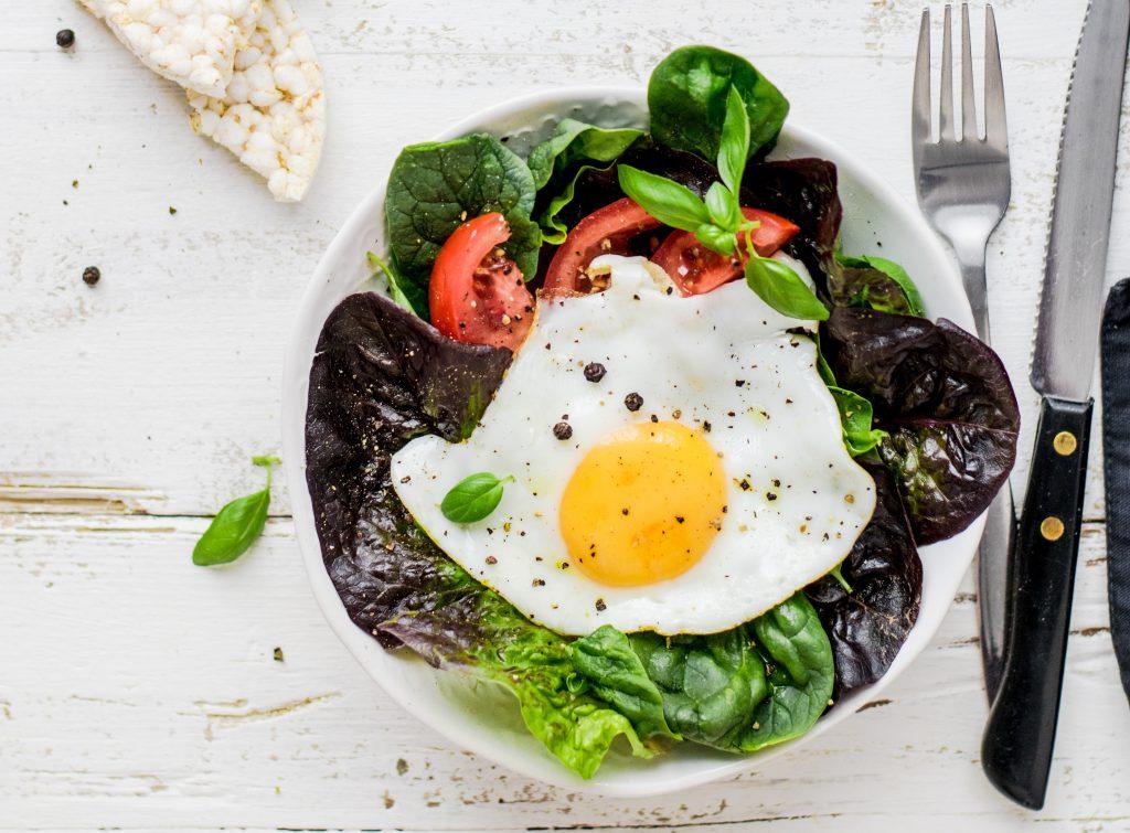 greens for breakfast