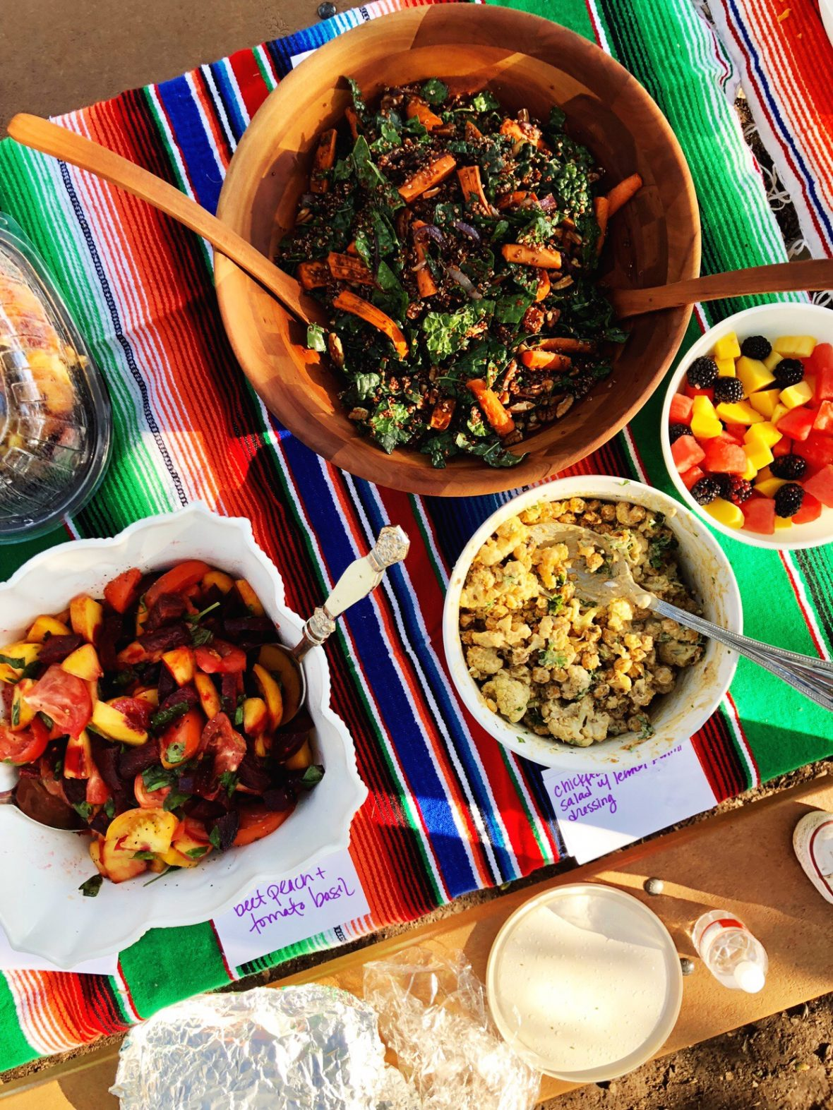 quinoa and kale salad - norulesnourishment.com