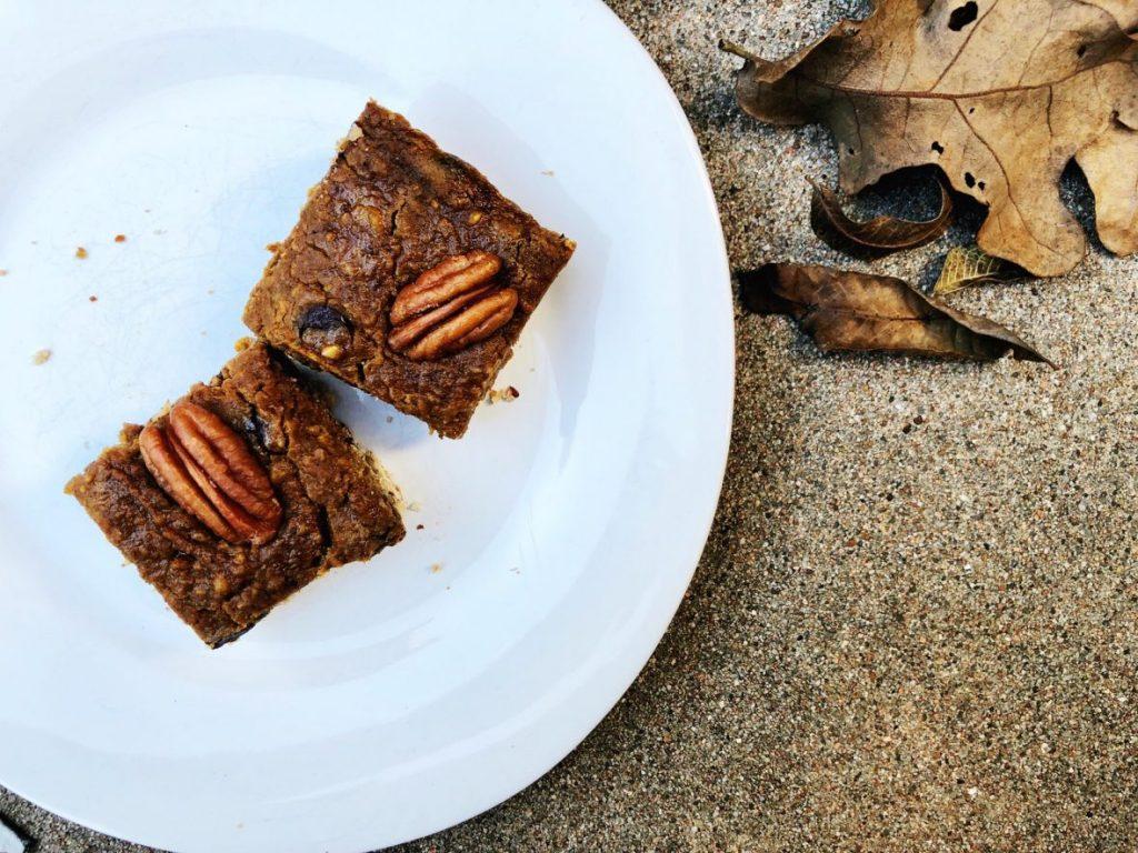 gluten free pumpkin pie bars
