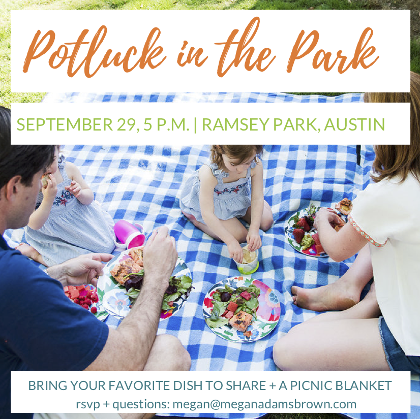 Potluck in the Park Fall 2019