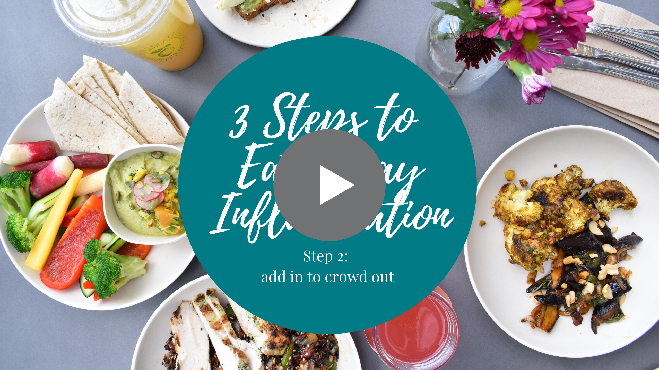 3 steps to eat away inflammation - step 2